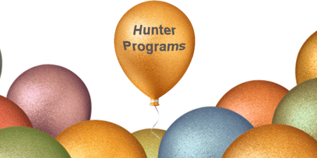 Welcome to launching of new Hunter Programs website