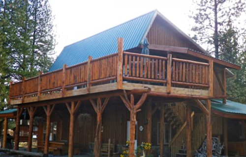 Hunting Lodge Montana Plain