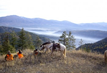 Montana horse riding adventure