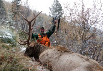 Elk hunting montana outfitter