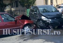 FOTO – VIDEO: Accident pe strada Sf. Gheorghe