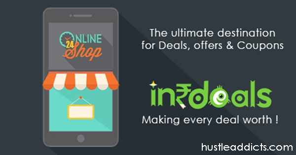 Stop scrolling google for online deals & coupons, INRDeals is everything you need.
