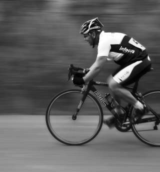 Cyclist-road-bike