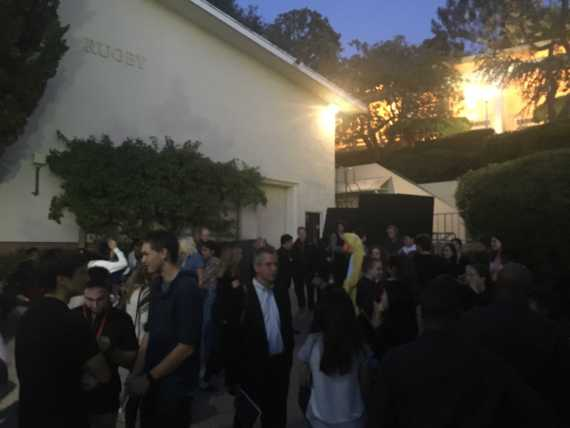 Three fire alarms interrupt Playwrights Festival