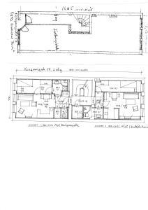 Kongensgt.17, 1.etg.butikk- kontor. 2.etg.Leil.1 og Leil.2