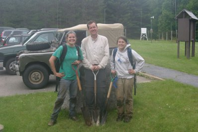 Watershed 3 soils crew, summer 2009.