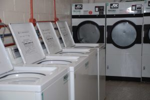 Laundry Room at Hylan Dartmouth Staten Island Apartments
