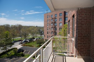 Balconies available at Hylan Dartmouth apartmentst. For rent in Staten Island