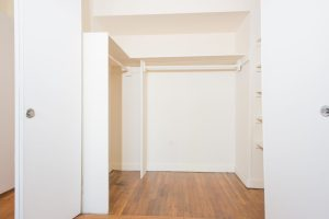 A 1BR with 3 closets including a master walk in closet!