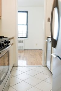 You will love the efficiency of a Galley Kitchen open to the apartment on both ends!