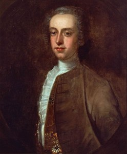 Gov. Thomas Hutchinson (portrait by Edward Truman, 1741)