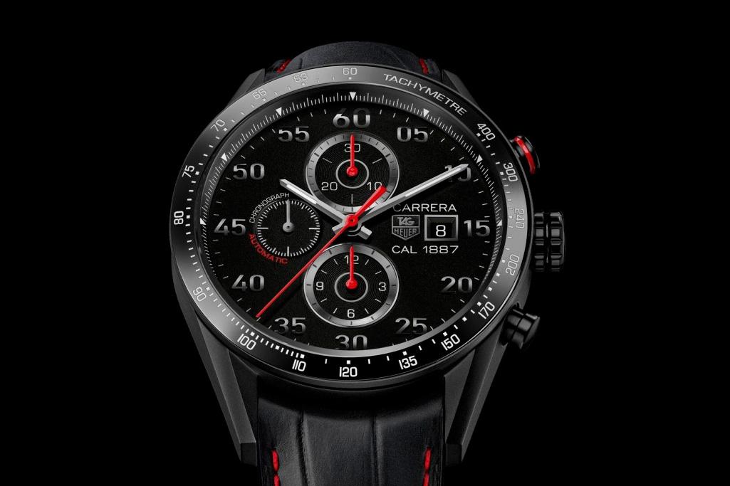 TAG Heuer Carrera 1887 Titanium Racing Chronograph Watch