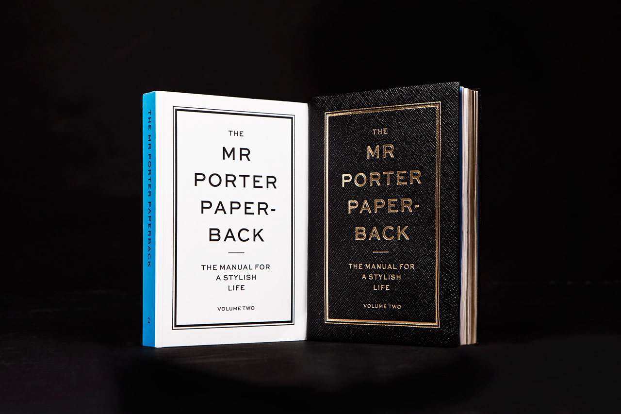 pictures The MR PORTER Paperback: The Manual For A Stylish Life Volume Two