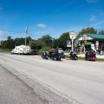 Paris Springs Junction is on a short section of doubly bypassed Route 66.