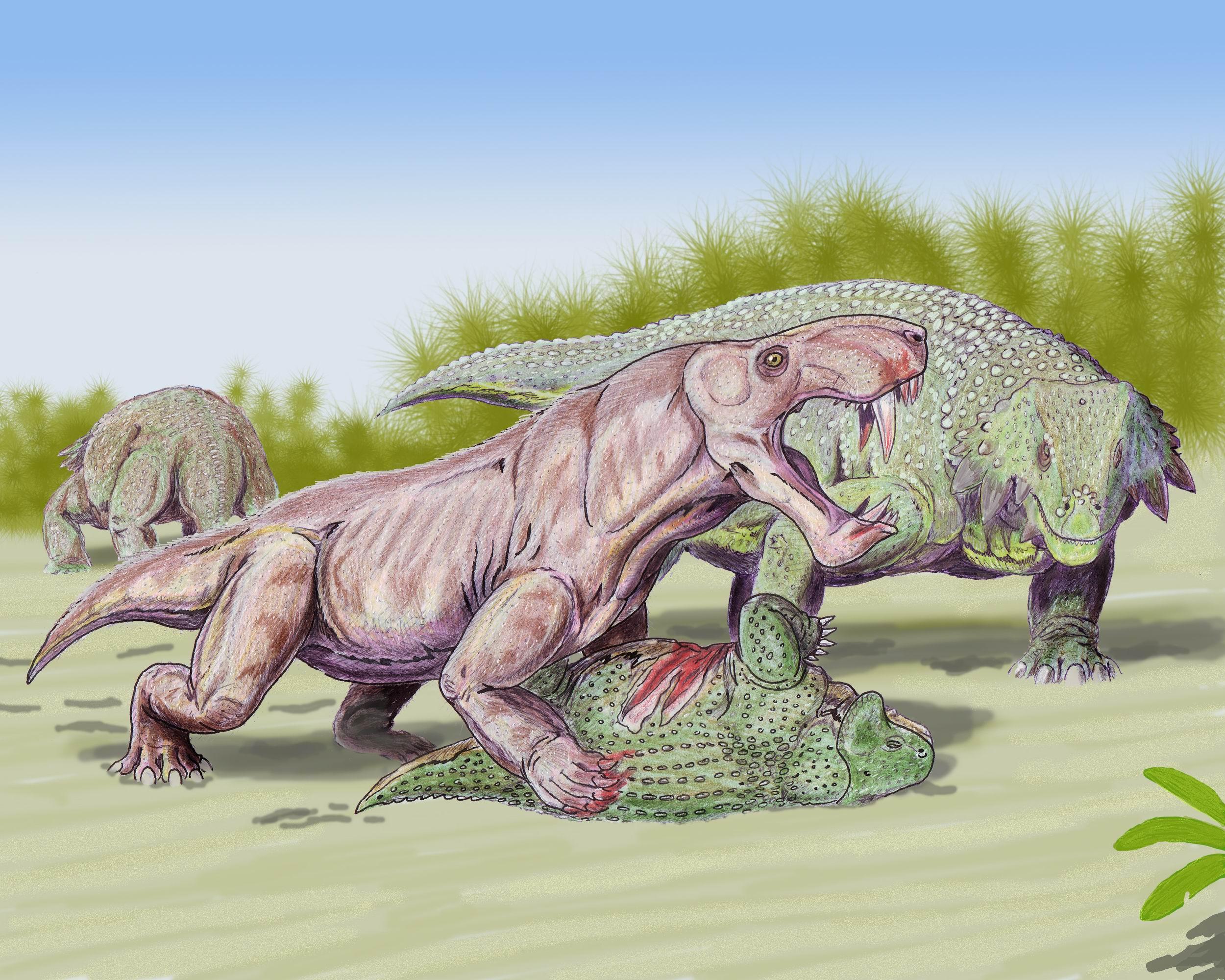 15 terríveis monstros pré-históricos