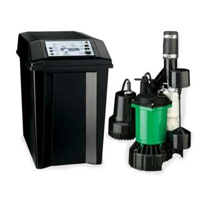 Hydromatic FG-2200C Classic Battery Back-up Sump Pump System 34 GPM