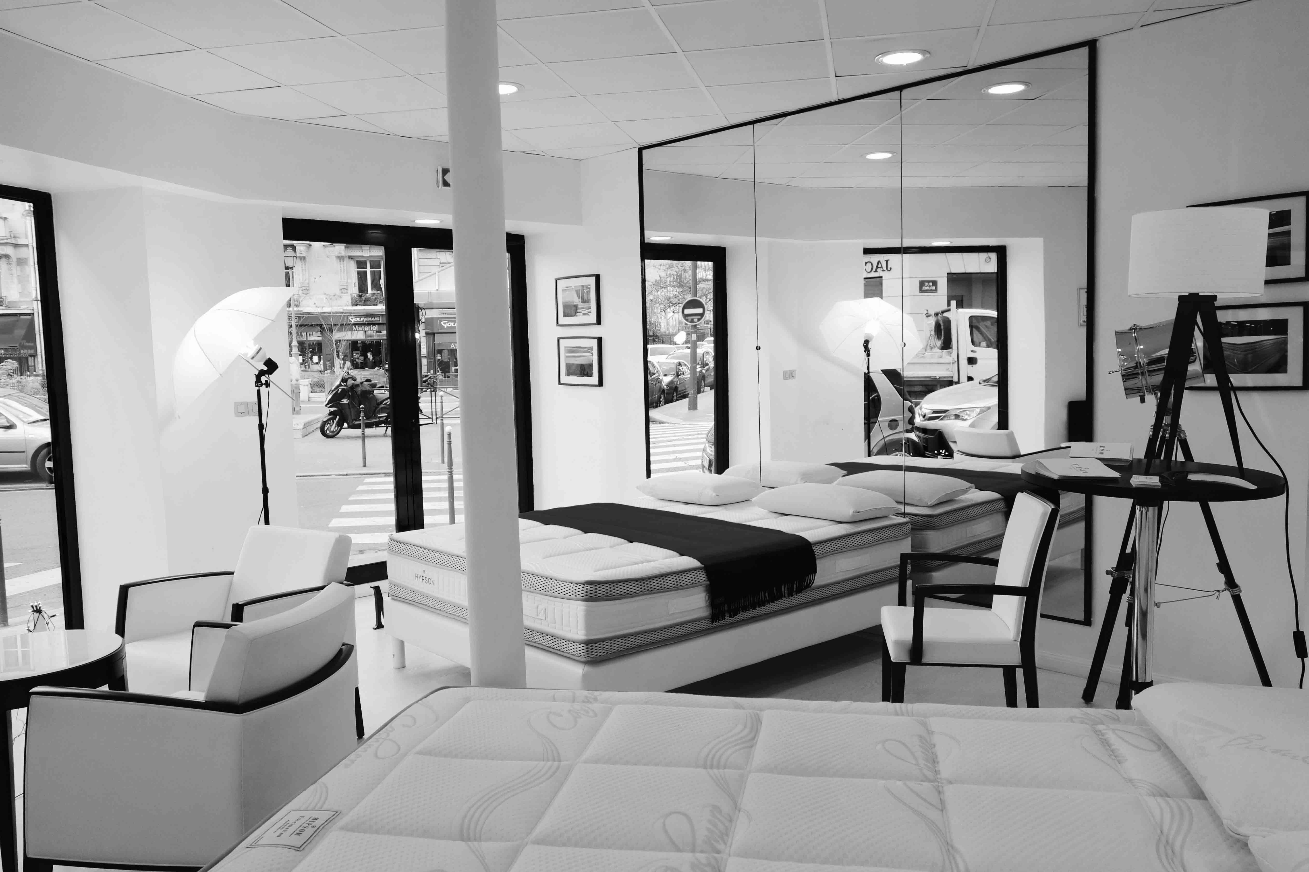 lits de haute qualit hypsom literie haut de gamme. Black Bedroom Furniture Sets. Home Design Ideas