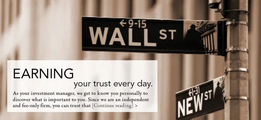 Earning your trust