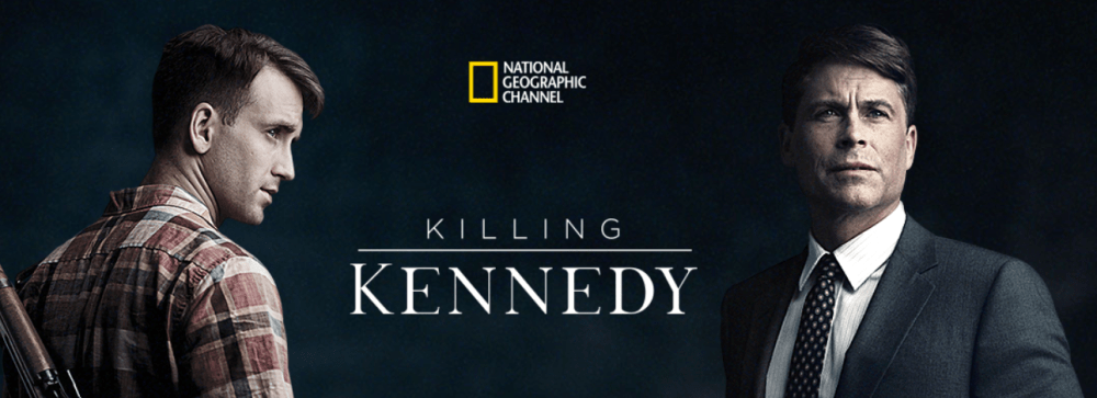 Screen shot from the start of Killing Kennedy
