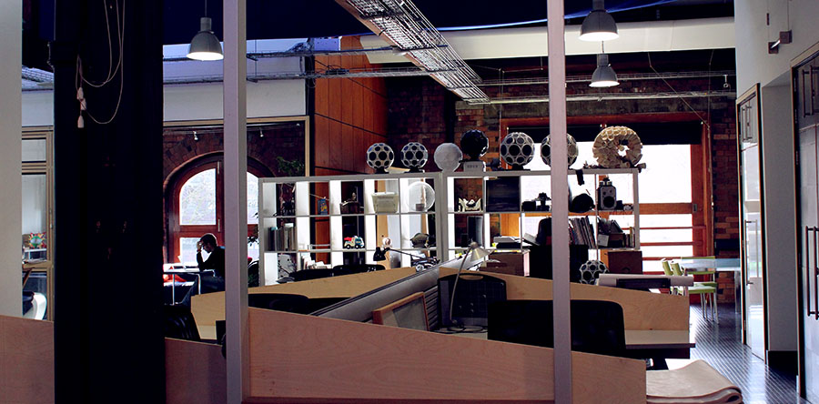 The DCRC are based at the Pervasive Media Studio, Bristol