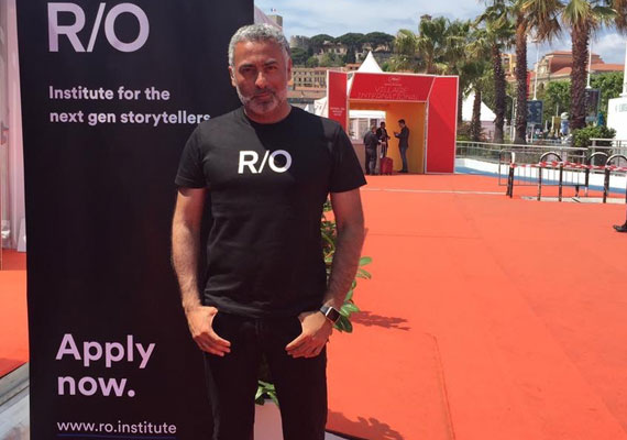 Domenico La Porta, Director of the R/O Institute, in Cannes