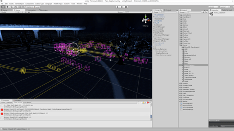 fig.11 Unity screenshot