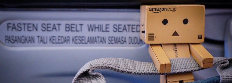 """Yes, fasten your seatbelt, so do I!"" said Danbo."