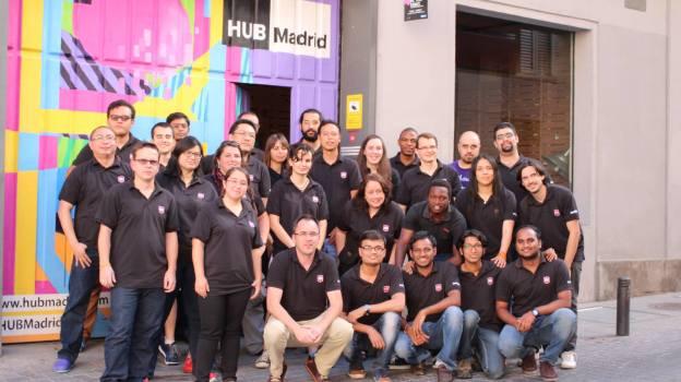 Mozilla Reps mentors in RemoCamp 2013 - Madrid.
