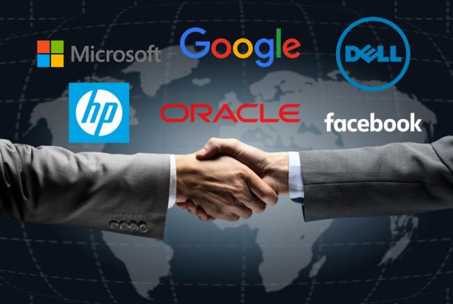 Ventas Compañías Tecnologia Importantes