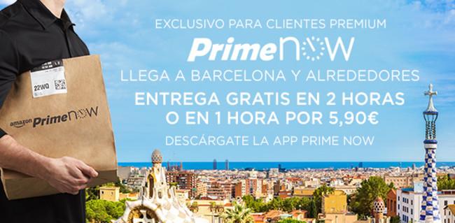 Amazon Prime Now Barcelona