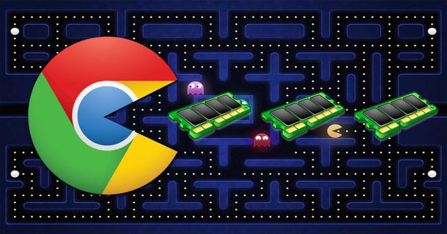 Google Chrome Ram Pacman