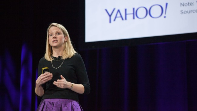 Marissa Mayer Yahoo Dev Conference