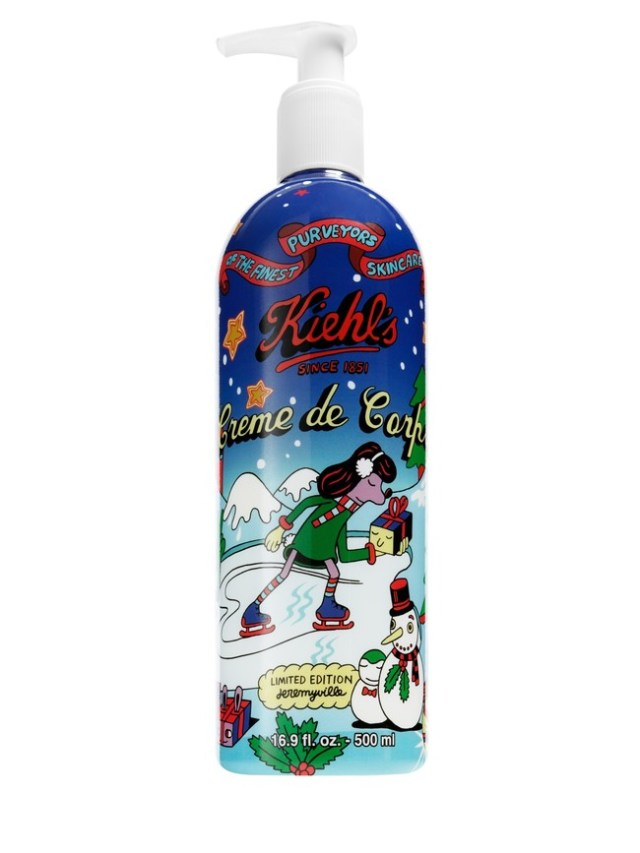 1kiehls 2016 Holiday Photography Creme De Corps Wrapped