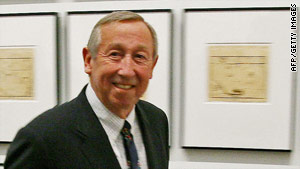 "Roy Edward Disney, here in 2007, ""helped to guide the studio to a new golden age of animation,"" the Walt Disney Co. says."