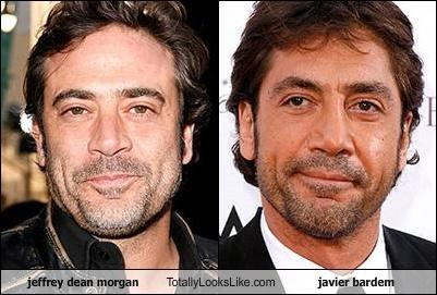jeffrey dean morgan Totally Looks Like javier bardem   Totally Looks     javier bardem Jeffrey Dean Morgan   3856678656