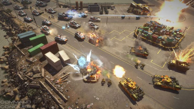 Command and Conquer © Electronic Arts