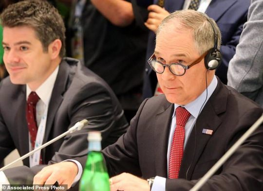Scott Pruitt Leaves G7 Climate Meeting More Than A Day Early.Scott Pruitt Leaves G7 Climate Meeting More Than A Day Early