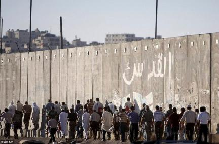 Side-effect: This wall separates many in Israel from the most holy sites in Islam, including the Al-Aqsa Mosque in Jerusalem