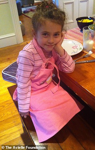 Avielle was among the 20 children shot in the Sandy Hook massacre