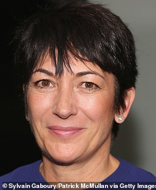 Ghislaine Maxwell, 58, is seen in the last known photograph of her from 2016