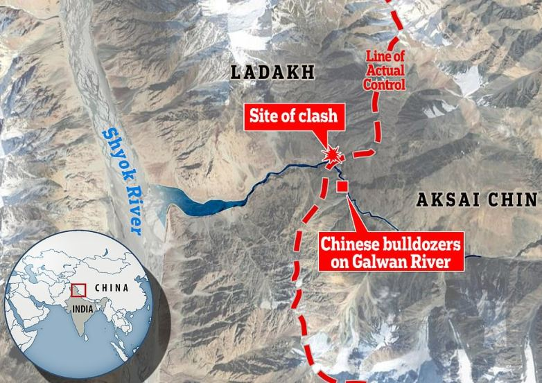 China lays claim to entire Galwan Valley where Chinese and Indian ...