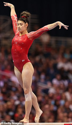 All four alternates, including Kayla DiCello (pictured) and Emma Malabuyo, have been training separately from Simone Biles and her five teammates, USAG revealed last week