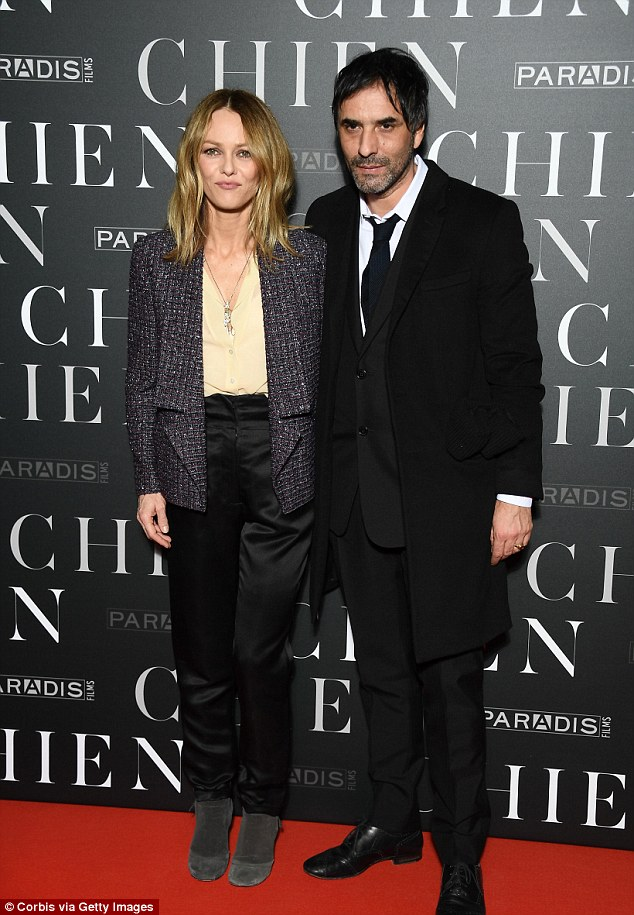 Vanessa Paradis and Samuel Benchetrit seen amid engagement claims     Vanessa Paradis was joined by her partner Samuel Benchetrit at the Paris  premiere