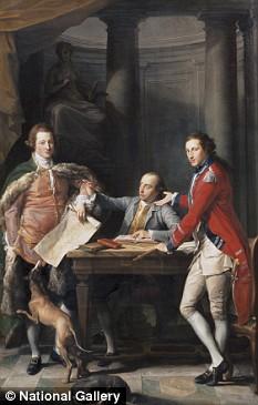 Captain Edward Hamilton painting