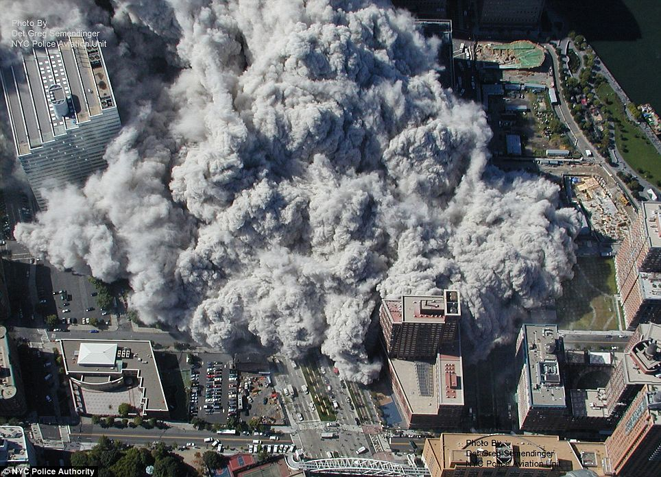 In this Sept. 11, 2001 photo made by the New York City Police Department and provided by ABC News