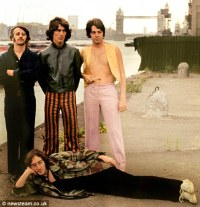 Paul pinches an inch as the Fab Four
