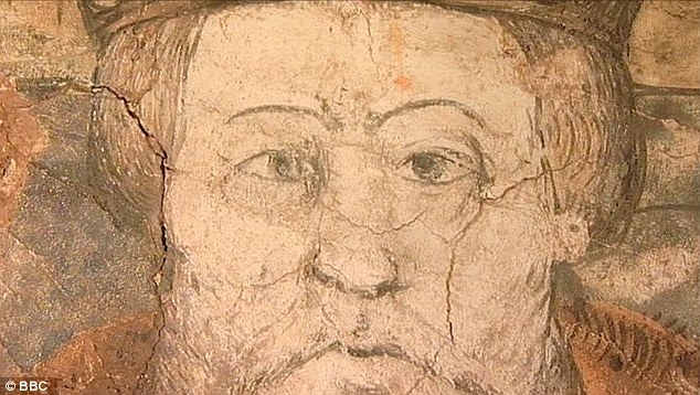 The painting of Henry VIII was discovered when some plaster was removed from a wall in house in Milverton, Somerset