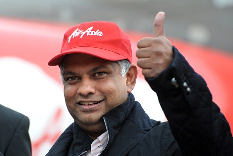thumbs up air asia tycoon tony fernandes is set to confirm his takeover of qpr