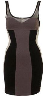 Sherry vestido de motel, R $ 42, Topshop