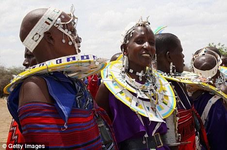 maasai people nude